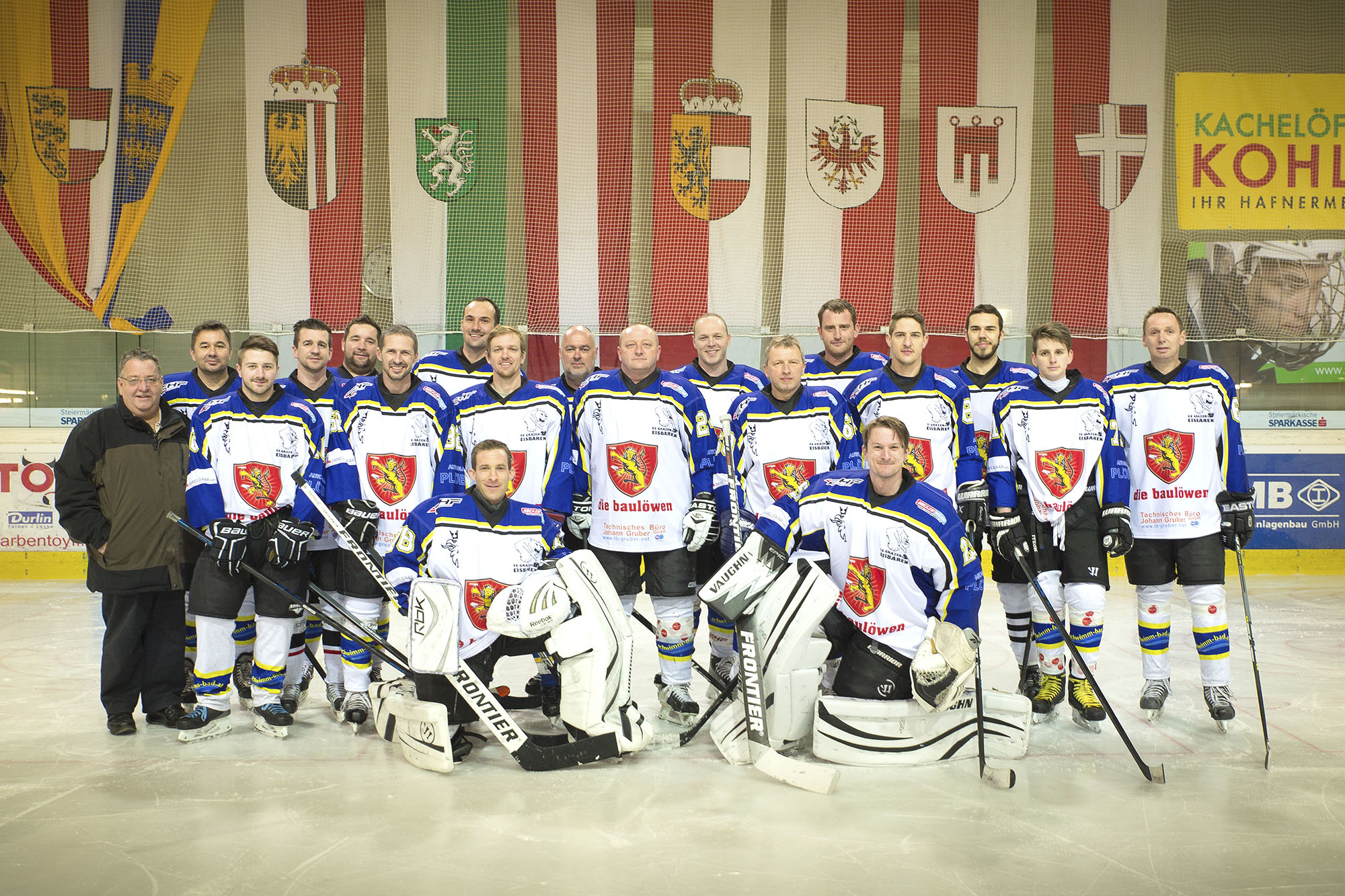 Mannschaft (aufgenommen Saison 2014/2015)